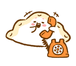 Plopping dumplings sticker #462959