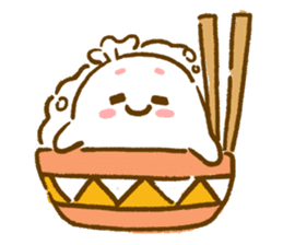 Plopping dumplings sticker #462962
