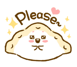 Plopping dumplings sticker #462973