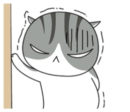 It's a cat! sticker #463191