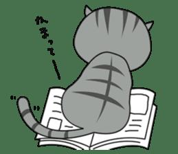 It's a cat! sticker #463205