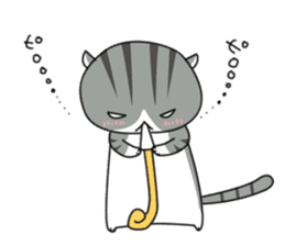 It's a cat! sticker #463211