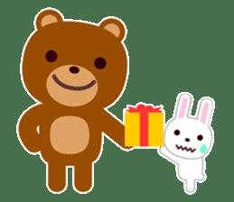 Don't eat me Mr. Bear ! sticker #463290
