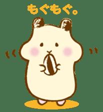 Hamster Sticker sticker #463815