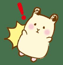 Hamster Sticker sticker #463817