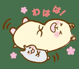 Hamster Sticker sticker #463820
