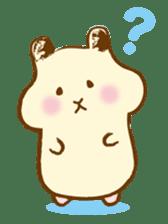 Hamster Sticker sticker #463821