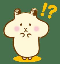 Hamster Sticker sticker #463822