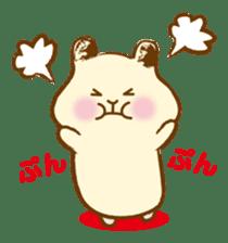 Hamster Sticker sticker #463823