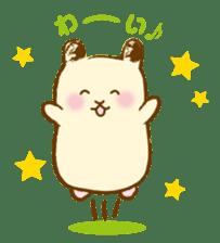 Hamster Sticker sticker #463825