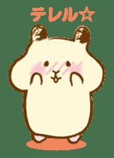 Hamster Sticker sticker #463826