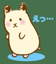 Hamster Sticker sticker #463837