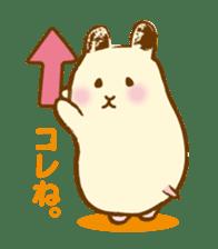 Hamster Sticker sticker #463841