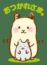 Hamster Sticker sticker #463843