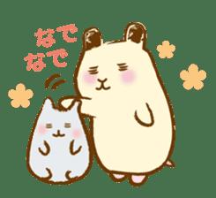 Hamster Sticker sticker #463845