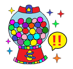 """""""Renbow"""" colorful stamps sticker #463951"""