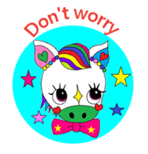 """""""Renbow"""" colorful stamps sticker #463970"""
