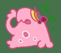 Pink Amoeba Stamp sticker #464029