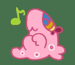 Pink Amoeba Stamp sticker #464038