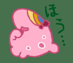 Pink Amoeba Stamp sticker #464043