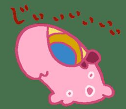 Pink Amoeba Stamp sticker #464048