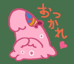 Pink Amoeba Stamp sticker #464052
