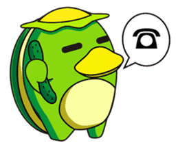 Egg Kappa sticker #465900