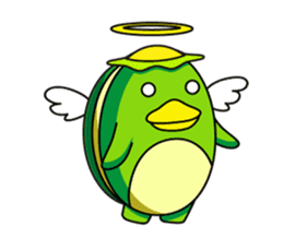 Egg Kappa sticker #465905