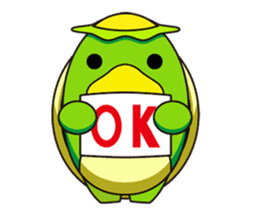 Egg Kappa sticker #465909