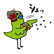 Little green bird (event ver.) sticker #466824