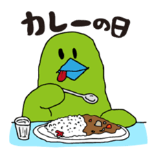Little green bird (event ver.) sticker #466853