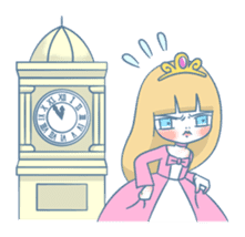 The Grumpy Princess sticker #469364