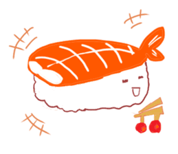 I love sushi sticker #469735