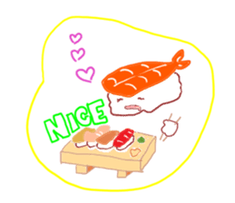 I love sushi sticker #469738