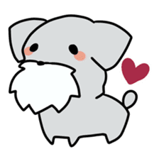 Puchi-Inu sticker #470975