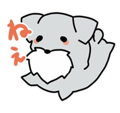 Puchi-Inu sticker #470979