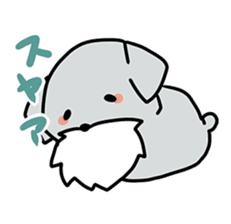 Puchi-Inu sticker #470980