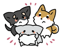 Puchi-Inu sticker #471014