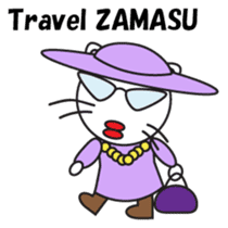 ZAMASU Mom English version sticker #471300