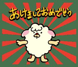 Moffy the Sheep! sticker #471776