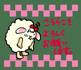 Moffy the Sheep! sticker #471780