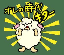 Moffy the Sheep! sticker #471783