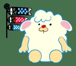 Moffy the Sheep! sticker #471789