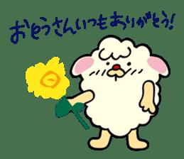 Moffy the Sheep! sticker #471792