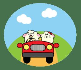 Moffy the Sheep! sticker #471794