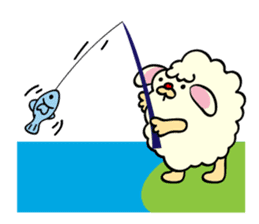 Moffy the Sheep! sticker #471800