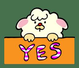Moffy the Sheep! sticker #471803