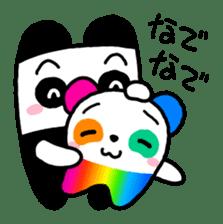 COLORFUL  PANDA sticker #472100
