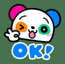 COLORFUL  PANDA sticker #472104