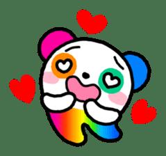 COLORFUL  PANDA sticker #472106